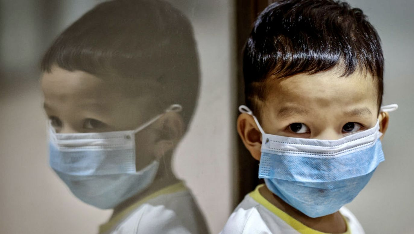 Powikłania po przebytym koronawirusie u dzieci (fot. Ezra Acayan/Getty Images)
