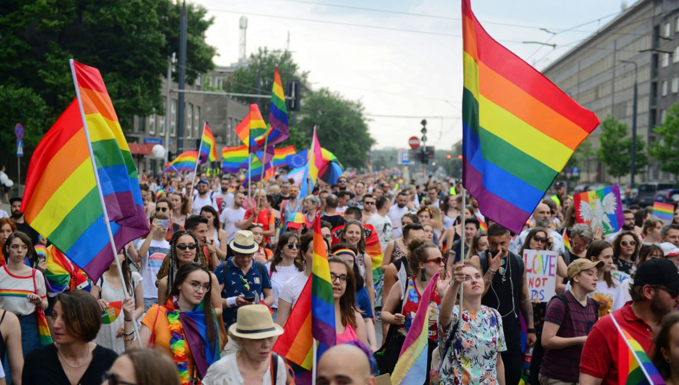 Parada Równości przeszła ulicami stolicy (fot. PAP/Jakub Kamiński)