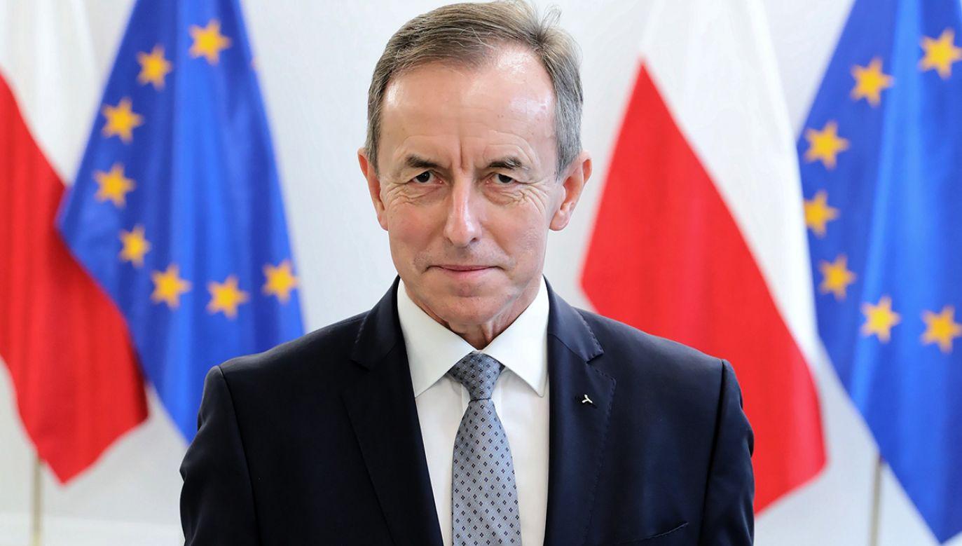 12 listopada 2019 r. Tomasz Grodzki został wybrany na marszałka Senatu (fot. PAP/Leszek Szymański)