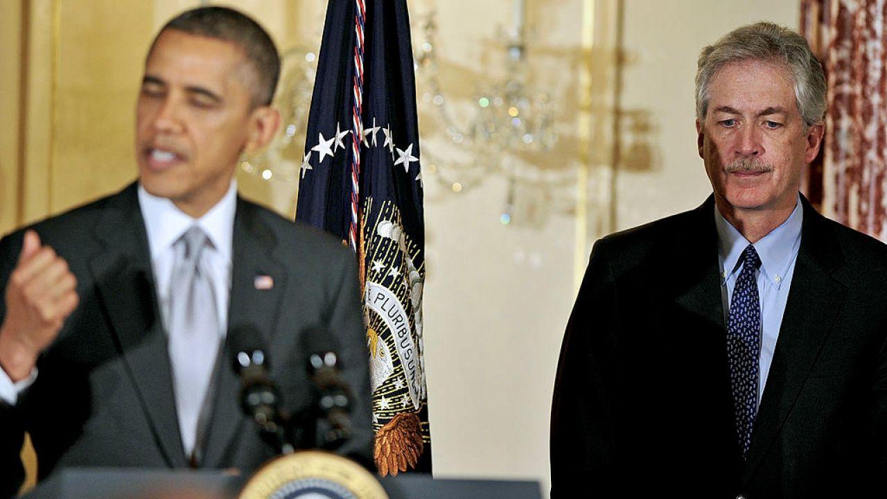 William Burns pełnił funkcję zastępcy sekretarza stanu USA w administracji Baracka Obamy (fot. Ron Sachs/Pool/Getty Images)