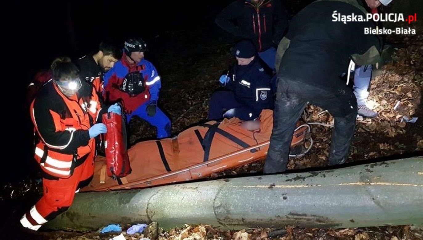 Akacja ratunkowa była bardzo trudna (fot. Policja)