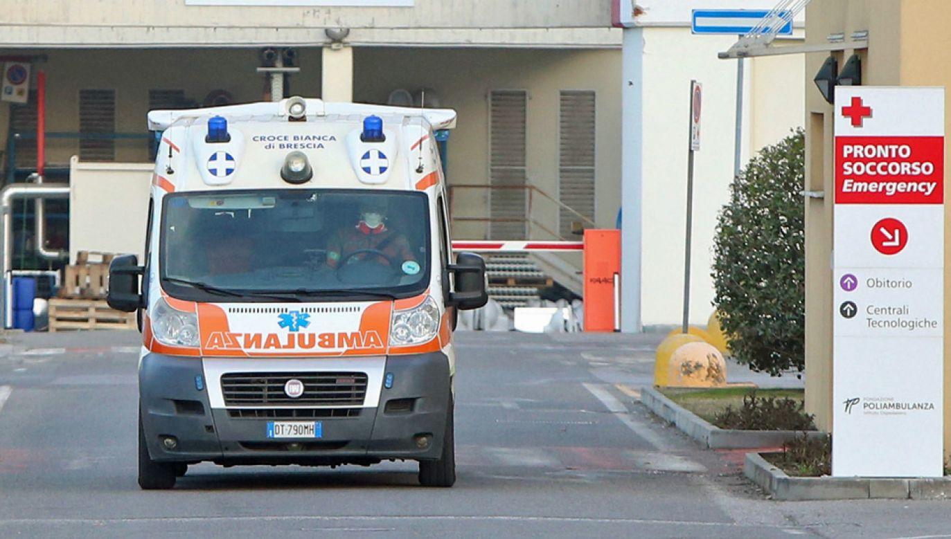 We Włoszech jest najwięcej przypadków zakażeń koronawirusem w Europie (fot. PAP/EPA/FILIPPO VENEZIA)