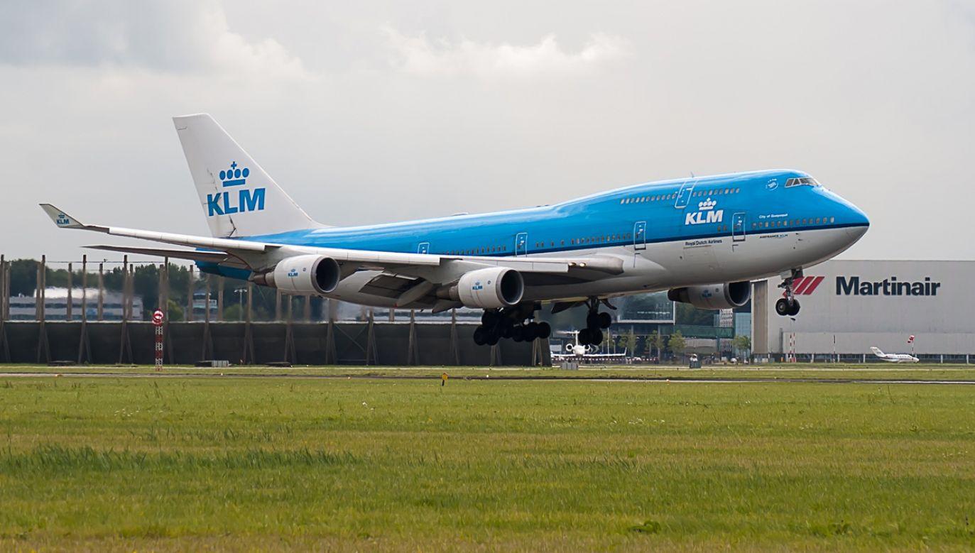 W niedzielę kolejny strajk personelu naziemnego KLM  (fot. Pixabay/corgaasbeek)