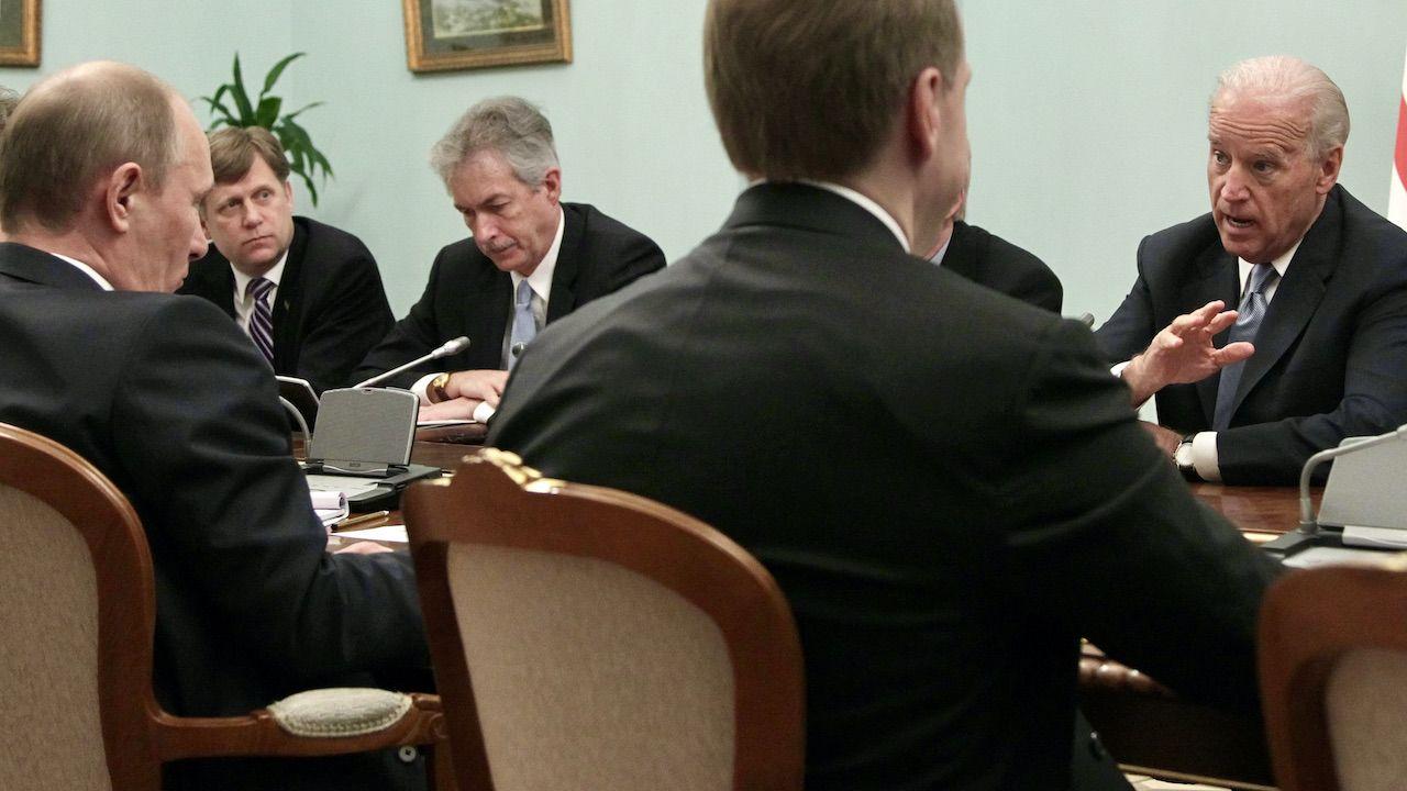 Szczyt Biden-Putin w Genewie (fot. arch.PAP/EPA/M.SHIPENKOV)