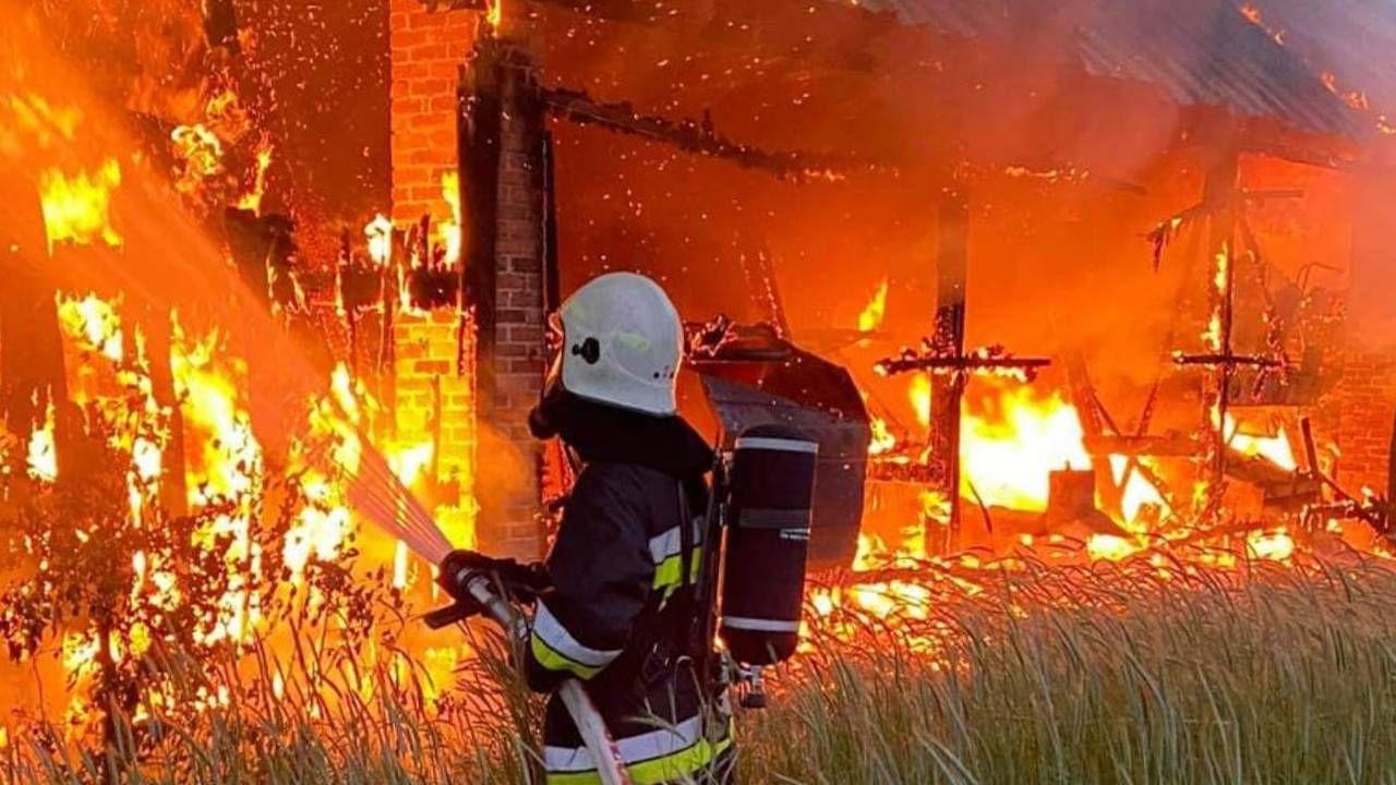 Strażacy byli wzywani dwa razy jednej nocy (fot. PSP)