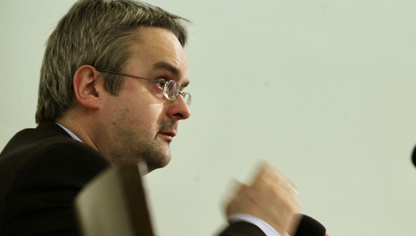 Minister Michał Dworczyk odniósł się do artykułu Wojciecha Czuchnowskiego (fot. arch.PAP/Tomasz Gzell)