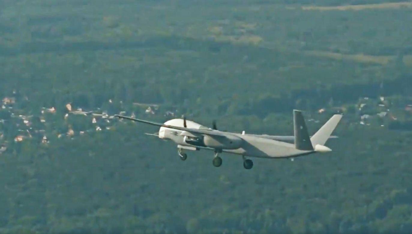 Pierwszy lot bezzałogowego pojazdu powietrznego Altius-U trwał ponad pół godziny (fot. Russian Ministry of Defense)