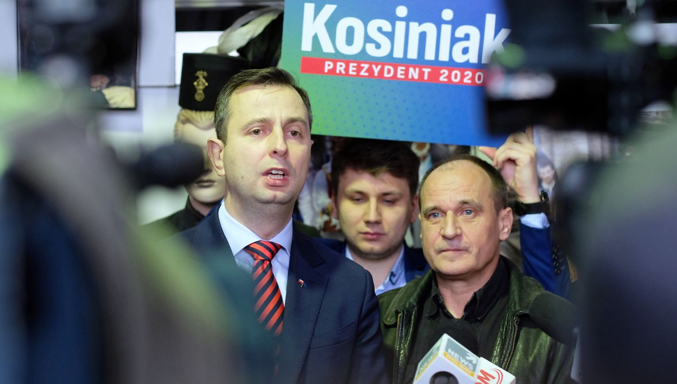 Koniec współpracy Pawła Kukiza i Władysława Kosiniaka-Kamysza? (fot. arch PAP/Andrzej Grygiel)