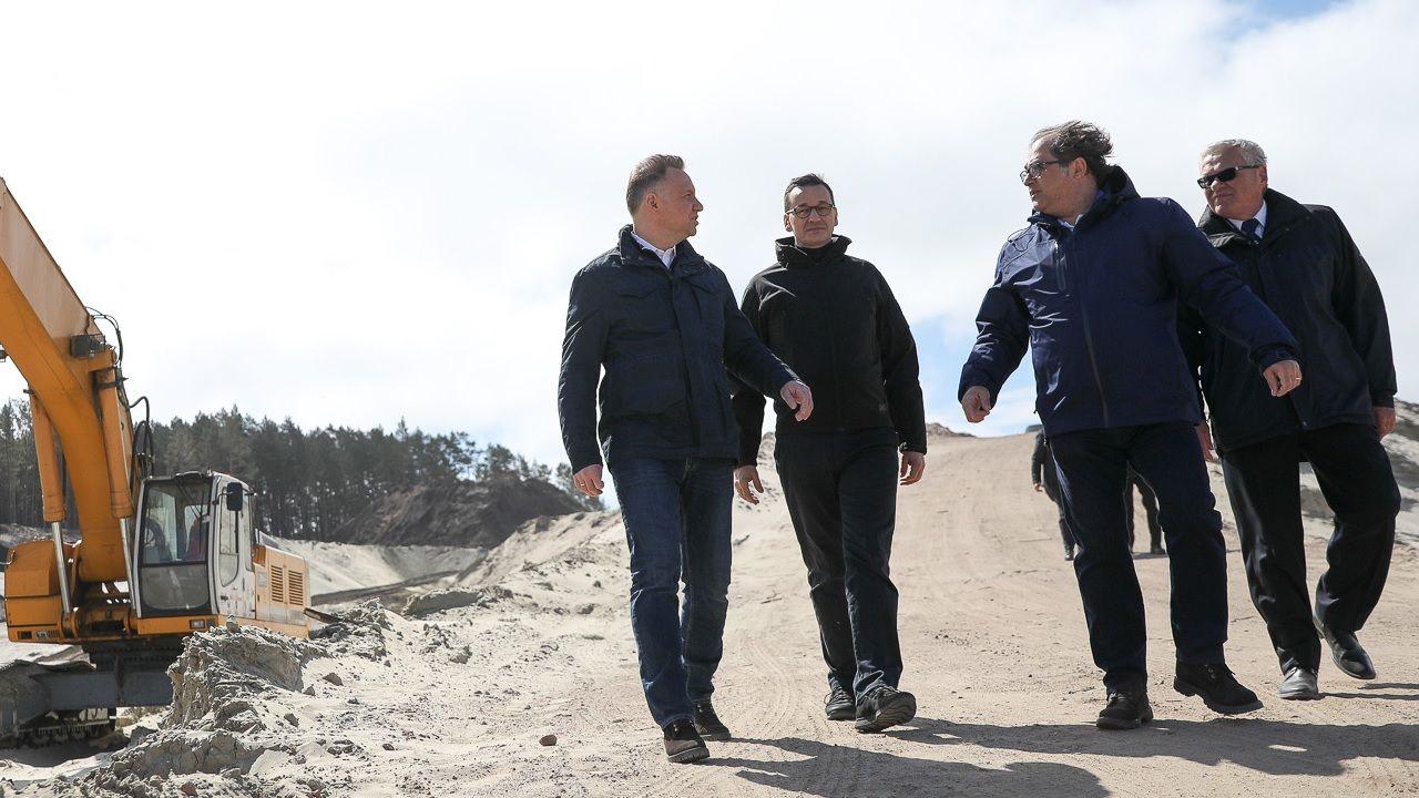 """""""Ostatnie 5 lat to był dobry czas dla Polski"""" – ocenił Andrzej Duda (fot. TT PrezydentPL)"""