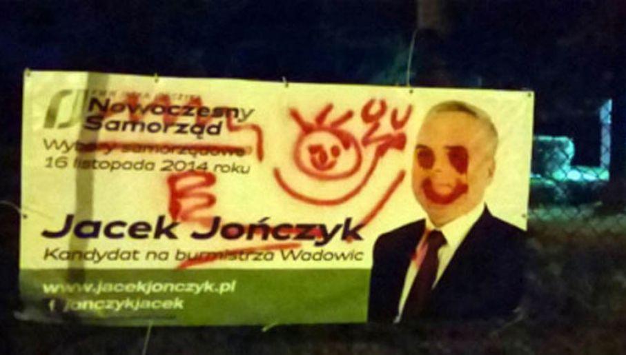 Kto Zniszczył Plakaty Wyborcze W Wadowicach Sprawę Wyjaśni