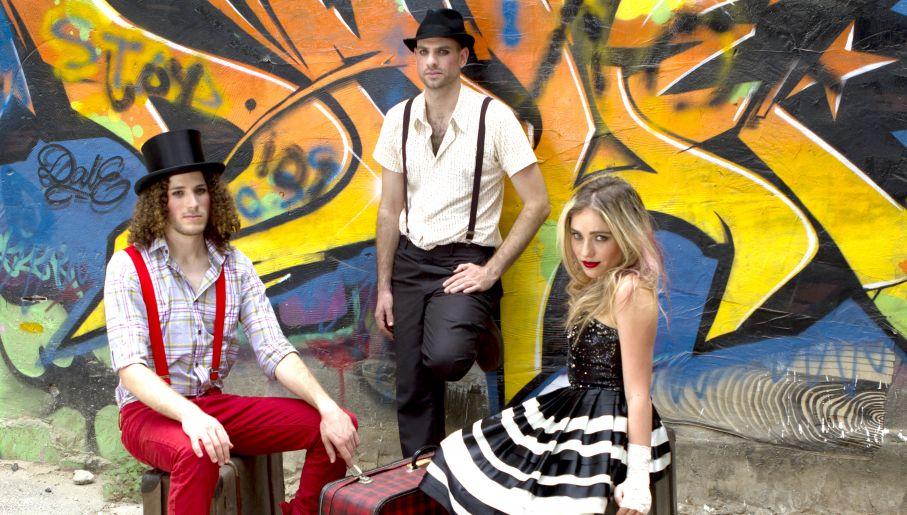 """Innowacyjny projekt muzyczny zaprezentuje izraelskie trio """"Savannah And The Stringz"""" (fot. mat. pras)"""