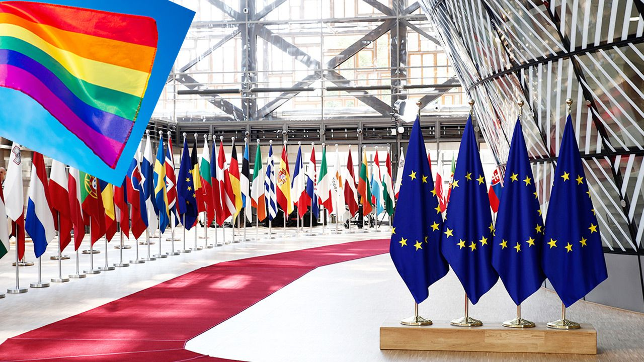 Projekt rezolucji wymienia Polskę jak kraj nietolerancji dla osób LGBT (fot. Shutterstock)