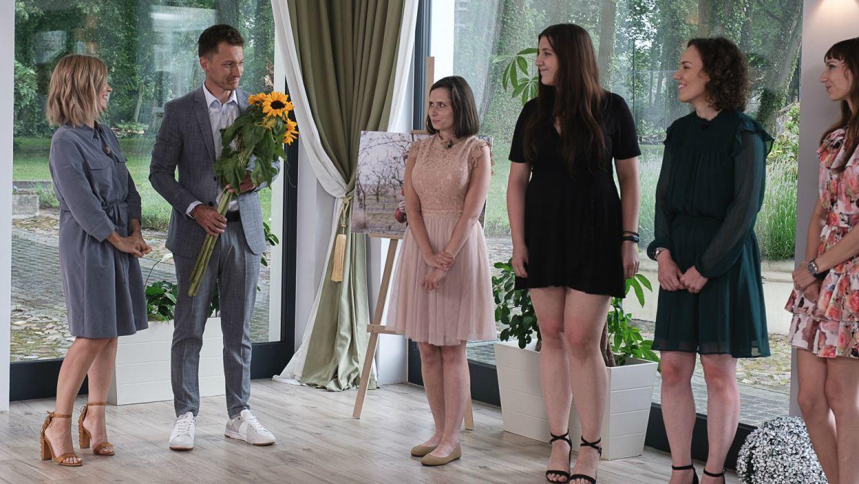 Maciej stresował się jeszcze bardziej, niż na pierwszych randkach! Kogo zaprosił do kolejnego etapu? (fot. TVP)
