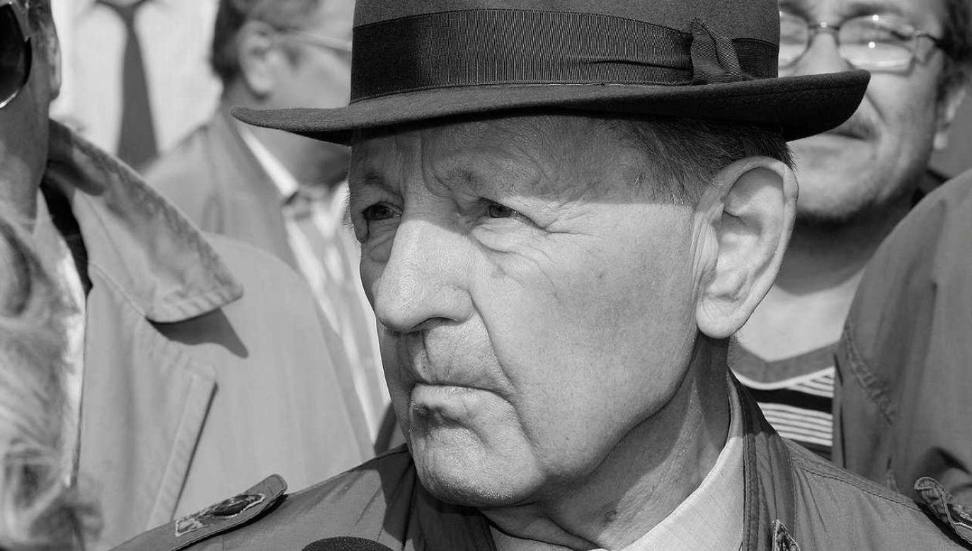 Milosz Jakesz reprezentował linię tzw. twardogłowych (fot. Wiki 2.5/che)