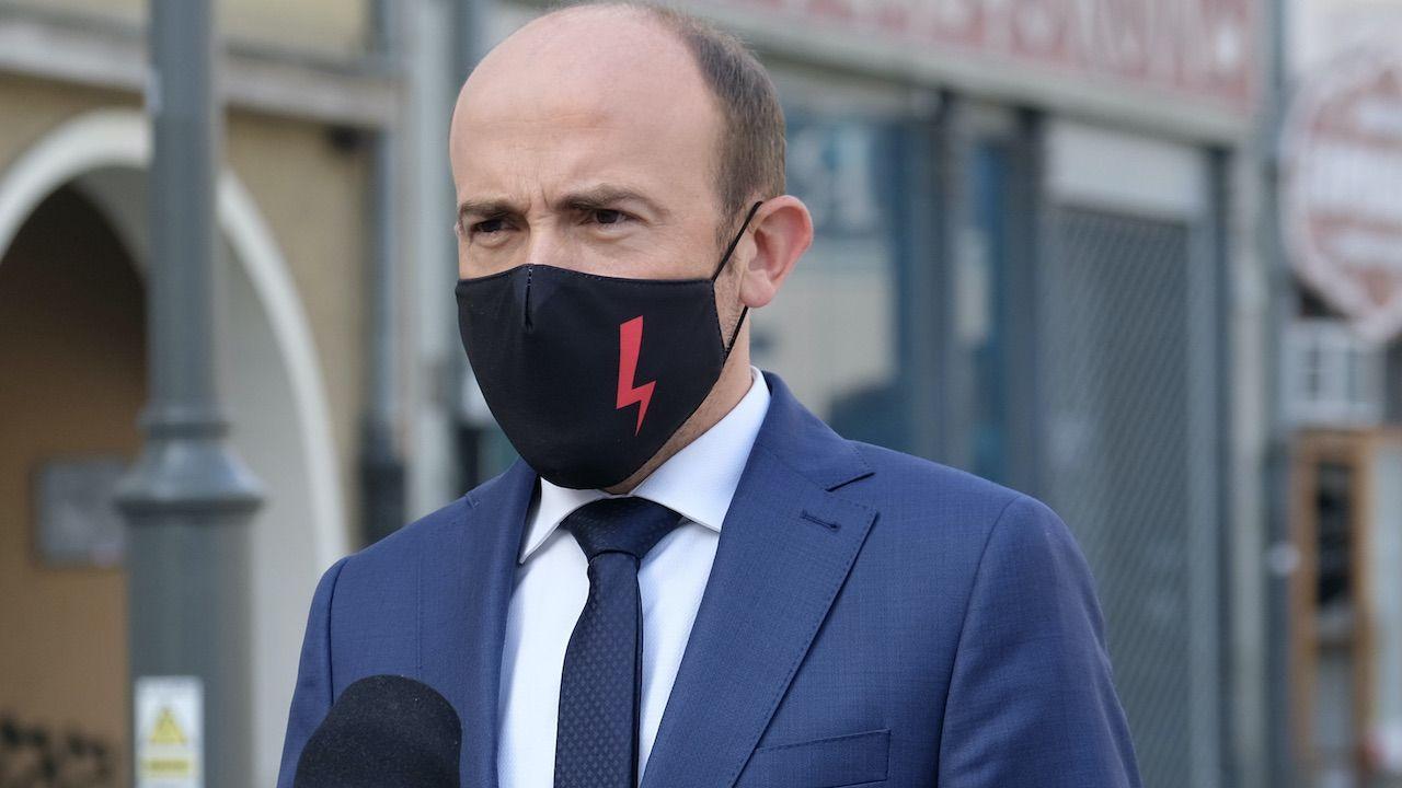 Borys Budka popierał protesty Ogólnopolskiego Strajku Kobiet, który domaga się aborcji na życzenie (fot. arch.PAP/Andrzej Grygiel)