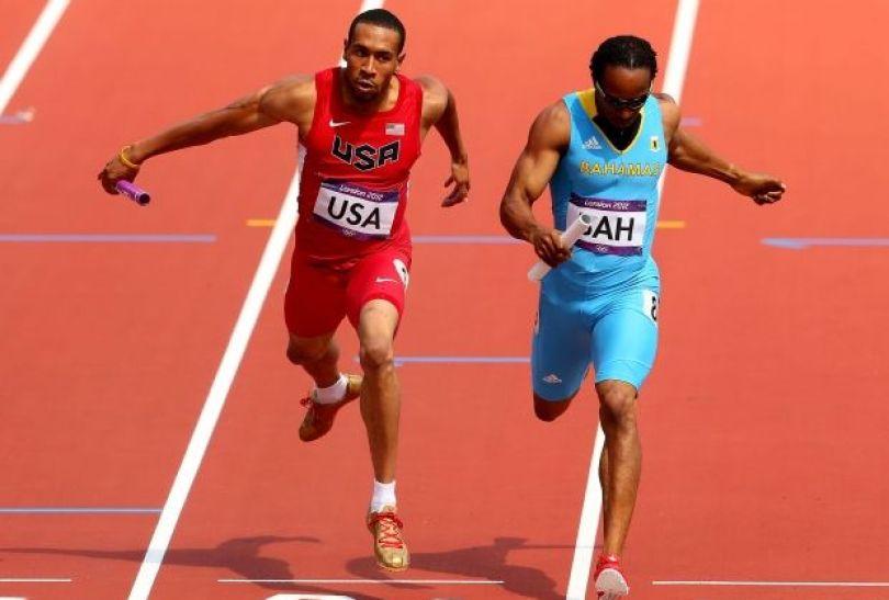 Biegacze Bahamów przerwali dominację USA w sztafecie 4x400 metrów (fot. Getty Images)
