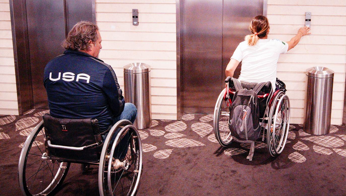 Działania na rzecz osób niepełnosprawnych są priorytetem (fot. Jaap Arriens/NurPhoto via Getty Images)