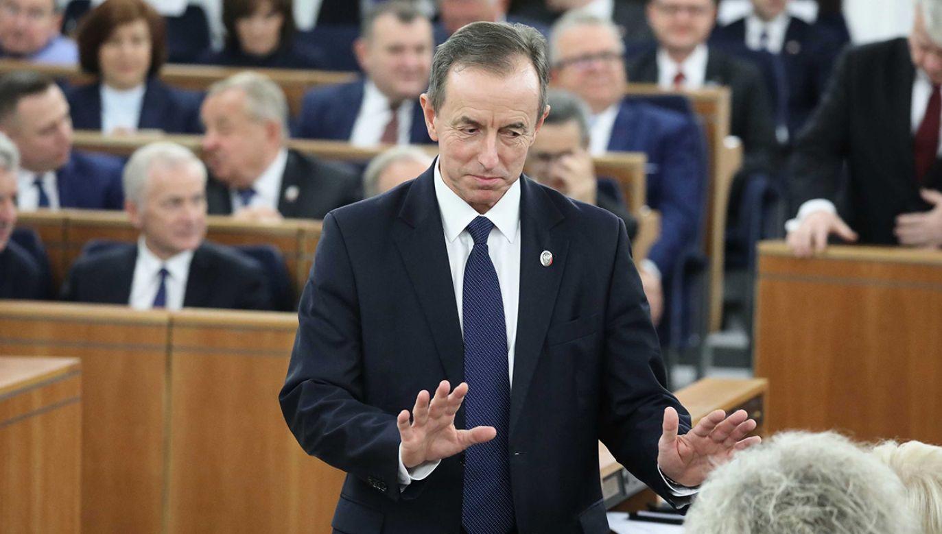 Marszałek Grodzki zaprzecza oskarżeniom (fot.PAP/Tomasz Gzell)