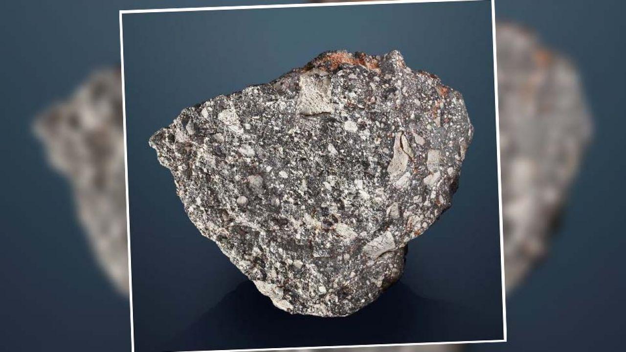 Obiekt NWA 12691 waży ponad 13,5 kg (fot. Christie's)