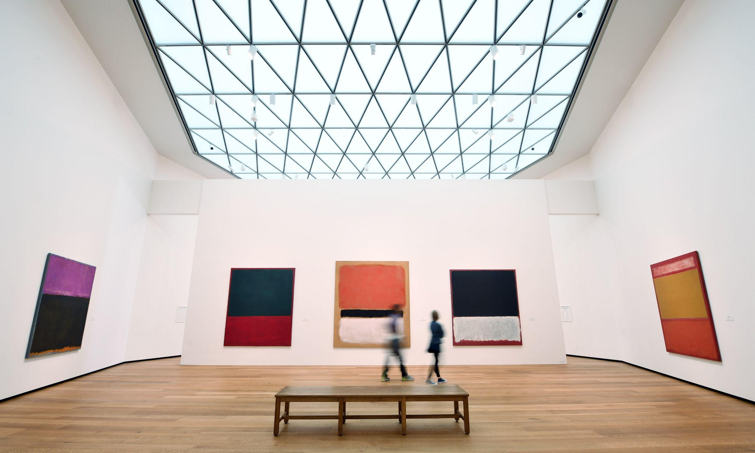 Prace Marka Rothko można oglądać w waszyngtońskiej National Gallery of Art. Fot. Matt McClain/The Washington Post via Getty Images
