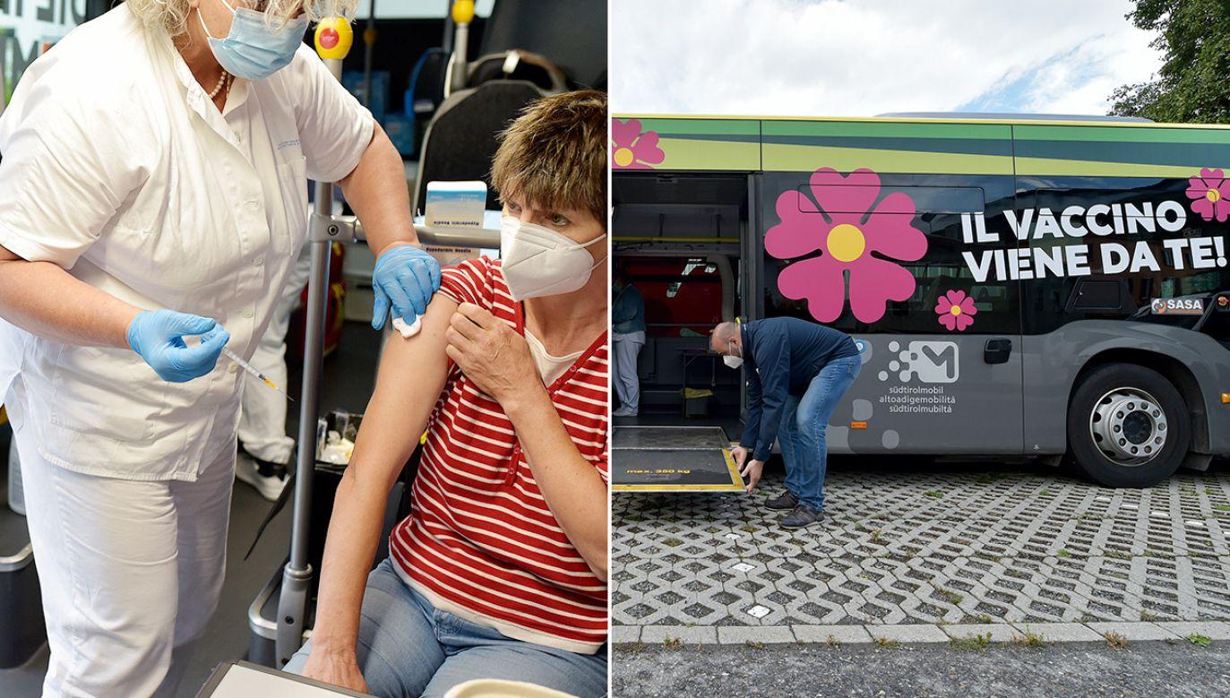 We włoskim regionie Lacjum notuje się boom zapisów na szczepienia przeciwko Covid-19 (fot. Getty Images)