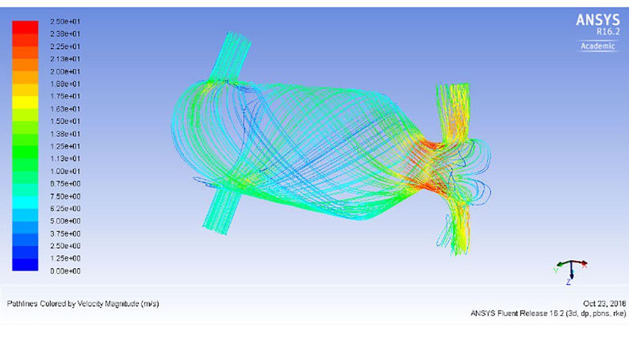 Wyniki symulacji chłodzenia (fot. KNN MELprop)