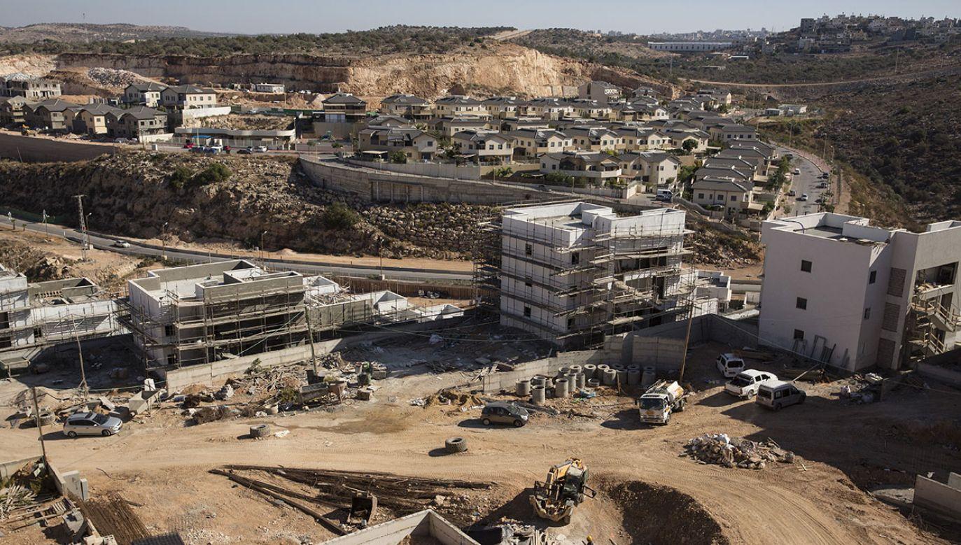 Osiedle Elkana w zachodniej części Samarii (fot. Amir Levy/Getty Images)