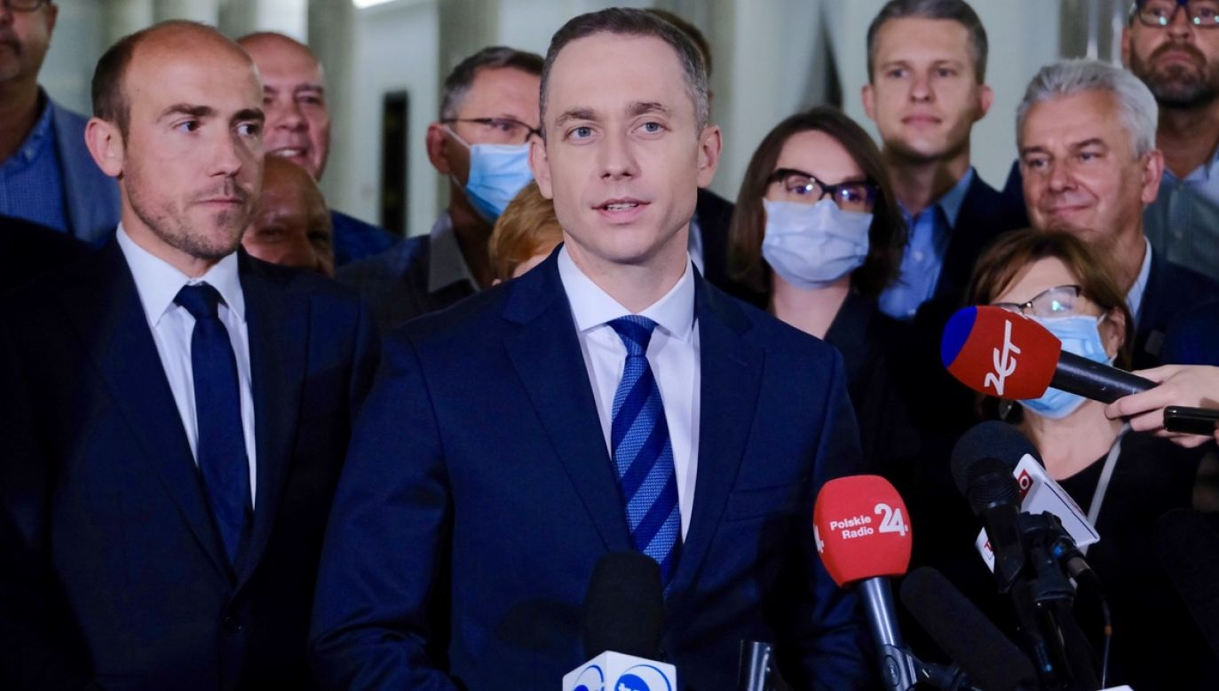 Cezary Tomczyk zastąpił Borysa Budkę na stanowisku szefa klubu parlamentarnego Koalicji Obywatelskiej (fot. PAP/Mateusz Marek)