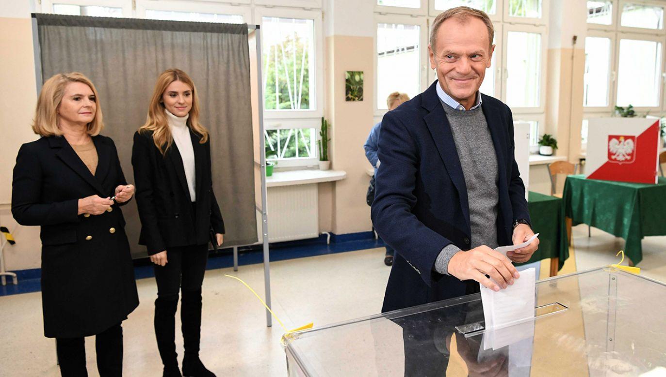 Tusk kilka dni temu gratulował wygranej liderowi chadeków w Austrii (fot. PAP/Adam Warżawa)