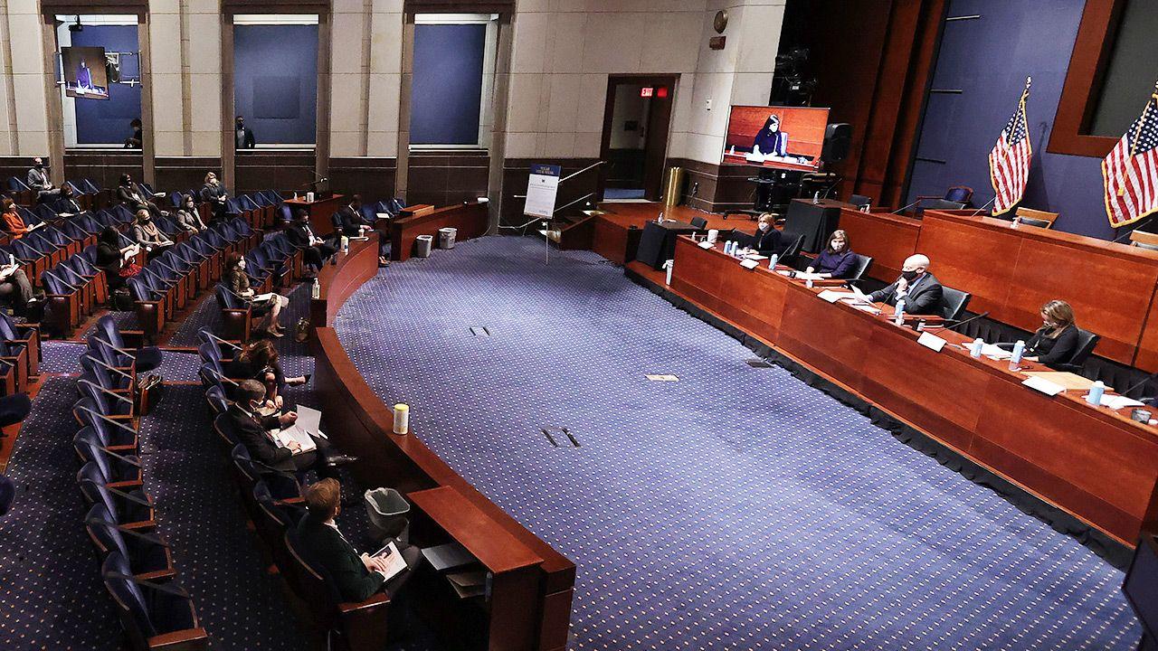 (Treść przyjętej rezolucji jasno wskazuje powody zainteresowania USA pierwotnie polsko-chorwackim projektem fot. Chip Somodevilla/Getty Images)