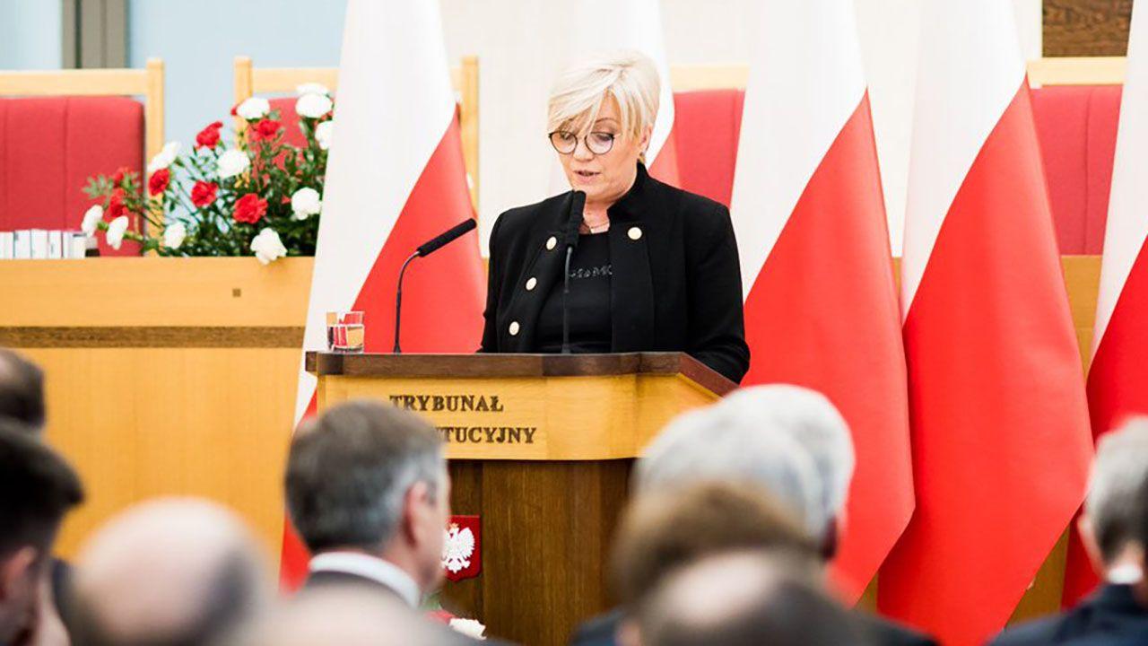 Julia Przyłębska objęła funkcję prezesa Trybunału Konstytucyjnego w grudniu 2016 roku (fot. tt/@TK_GOV_PL)