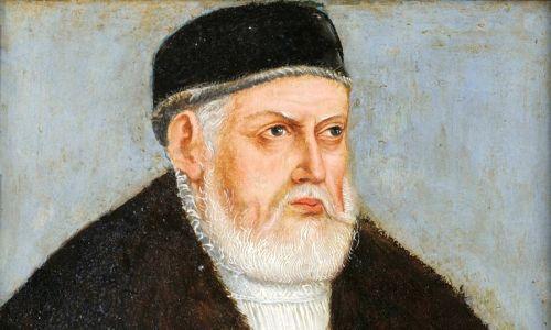 Renesansowy władca Rzeczpospolitej Zygmunt Stary (1467-1548) na portrecie warsztatu Lucasa Cranacha Młodszego, z ok. 1555 r. Fot. Wikimedia