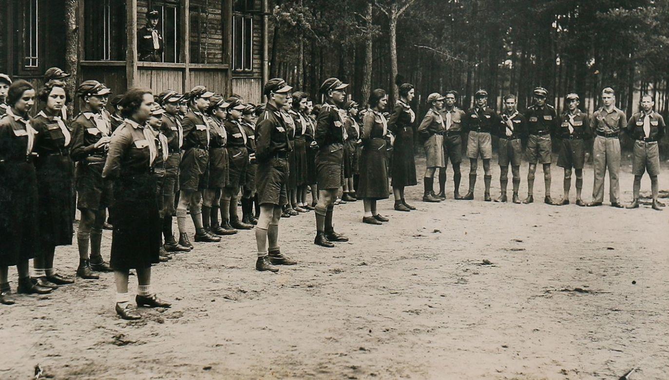 Członkowie Betaru podczas obozu letniego w Zakopanem. Fot. Wikimedia