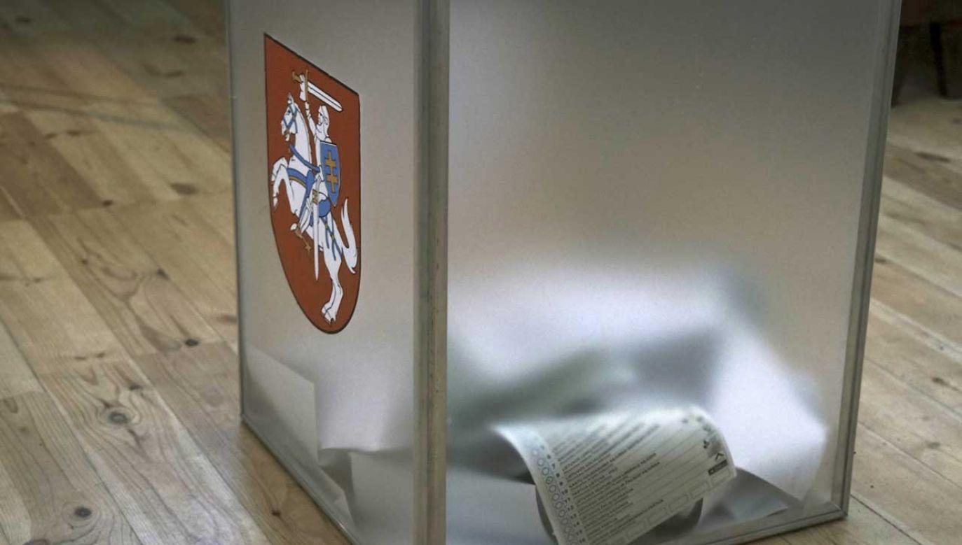 Na Litwie obowiązuje mieszana ordynacja wyborcza (fot. PAP/EPA/Valda Kalnina)