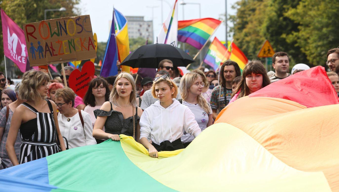Marsz Równości przeszedł ulicami Białegostoku (fot. PAP/Artur Reszko)