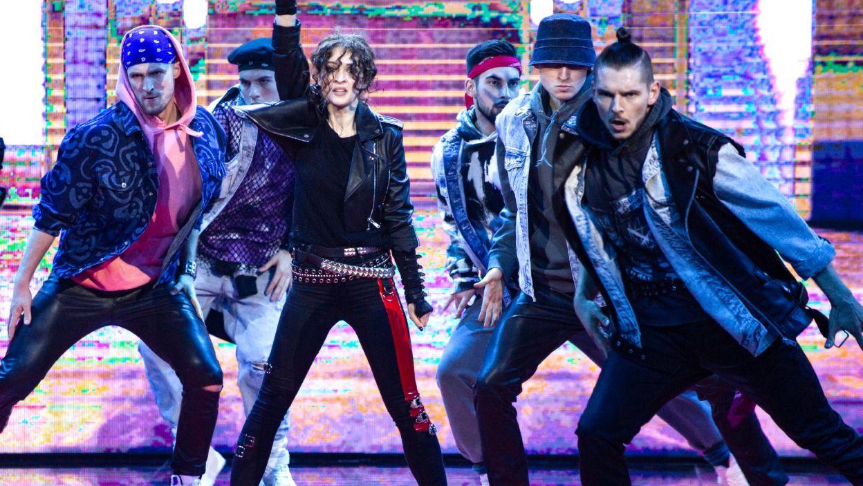 Anna Matysiak w finałowej solówce zmierzyła się z choreografią do przeboju Michaela Jacksona. Czy to był występ na miarę finału? (fot. TVP)