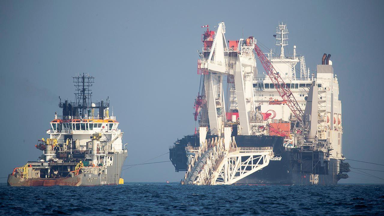 Do ukończenia gazociągu brakuje jeszcze 150 km (fot. REUTERS/Axel Schmidt)