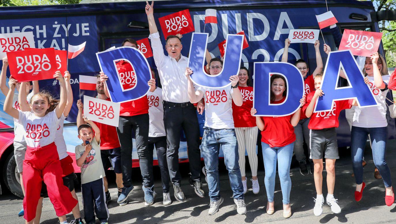 Kampania Andrzeja Dudy wyraźnie odżyła (fot. DUDA20202020)