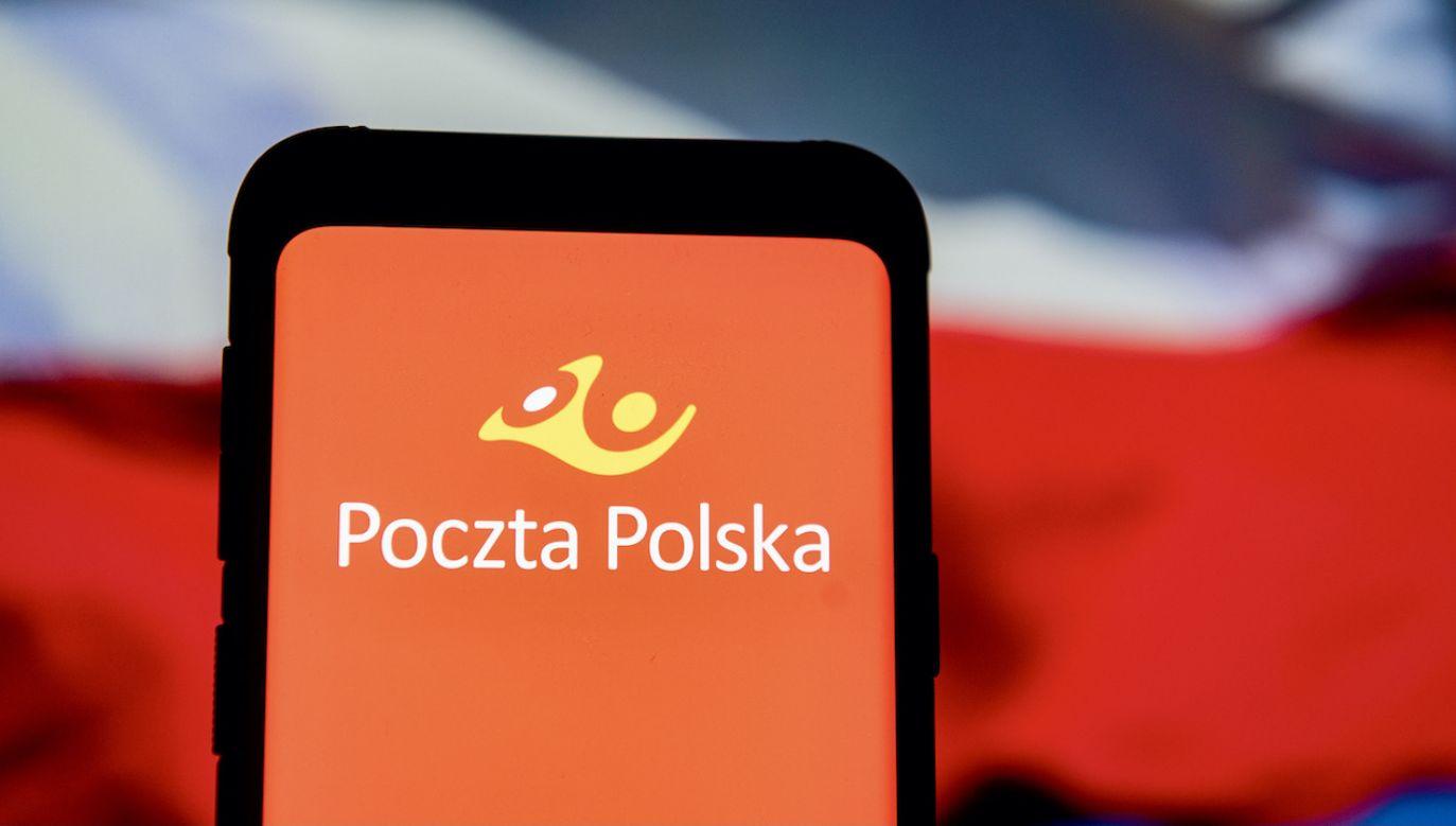 Polska poczta ostrzega przed fałszywymi wiadomościami (fot. Mateusz Slodkowski/SOPA/LightRocket/Getty Images)