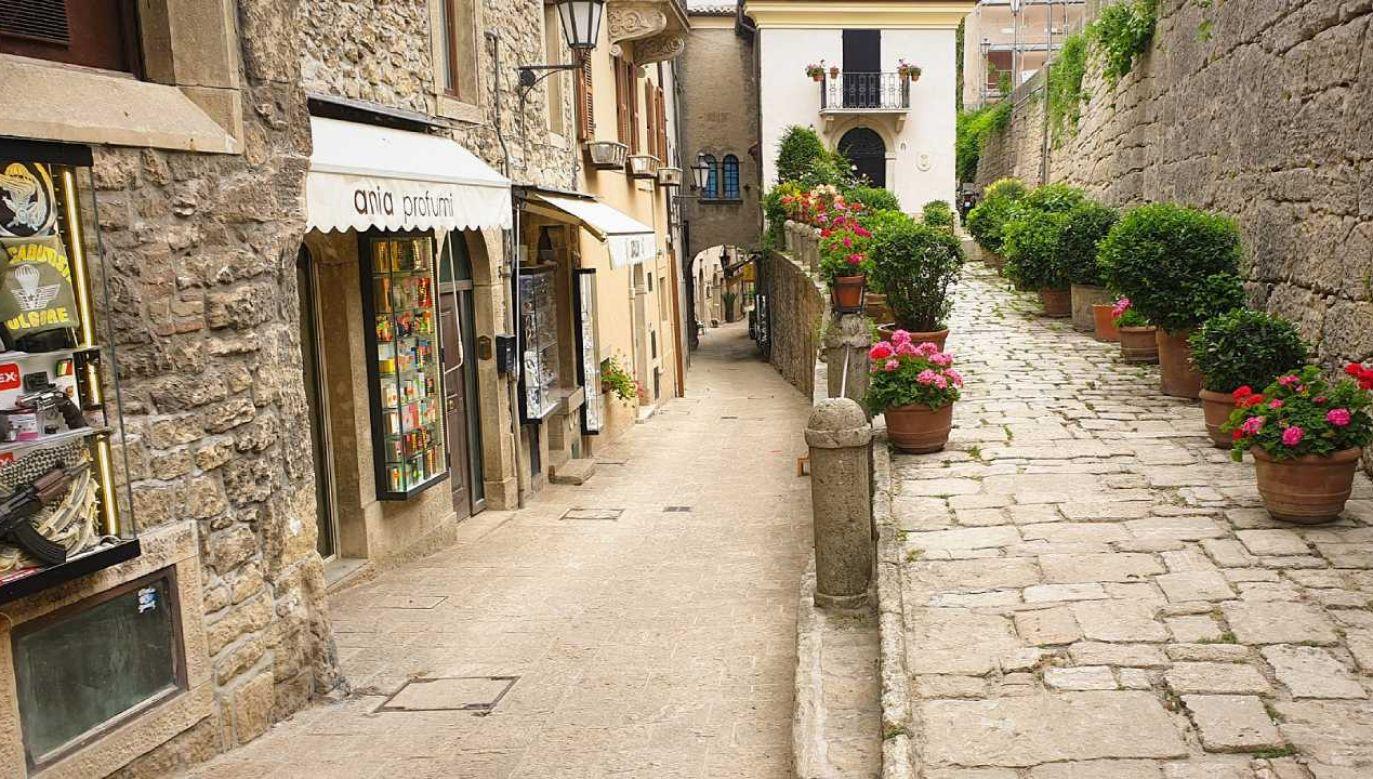 W San Marino ograniczenia dotyczą głównie lokali rozrywkowych (fot. Pixabay/demsi3art)