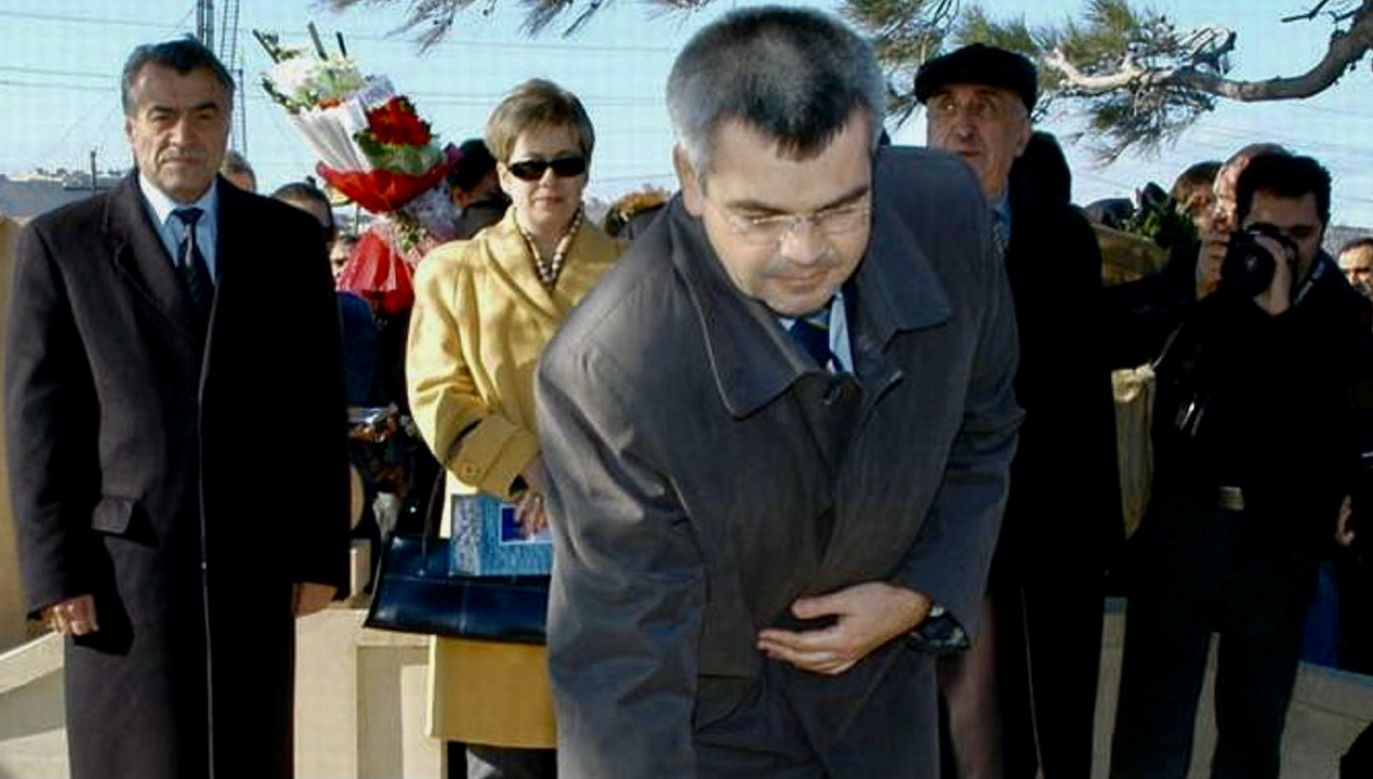 Dziennikarka prześledziła karierę ambasadora po 1990 roku (fot. arch.PAP/AzerTAc)