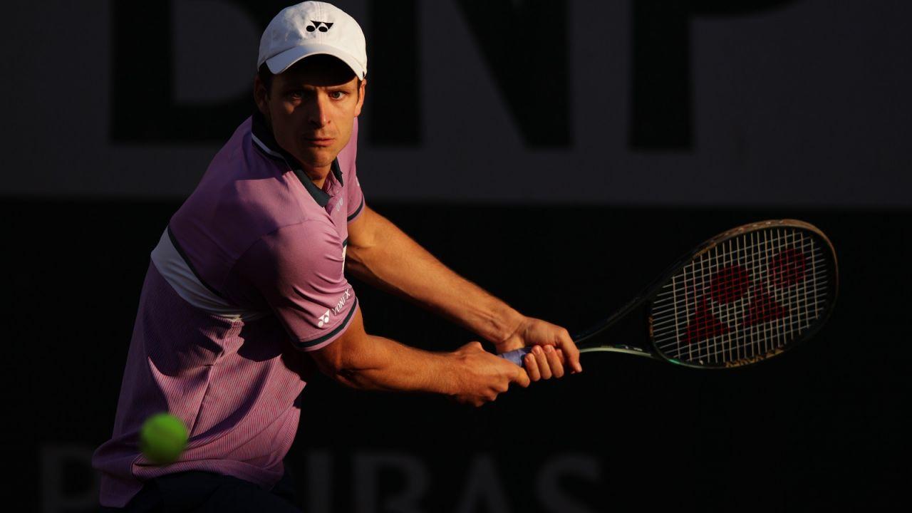 Tenis. Ranking ATP: awans Huberta Hurkacza (sport.tvp.pl)