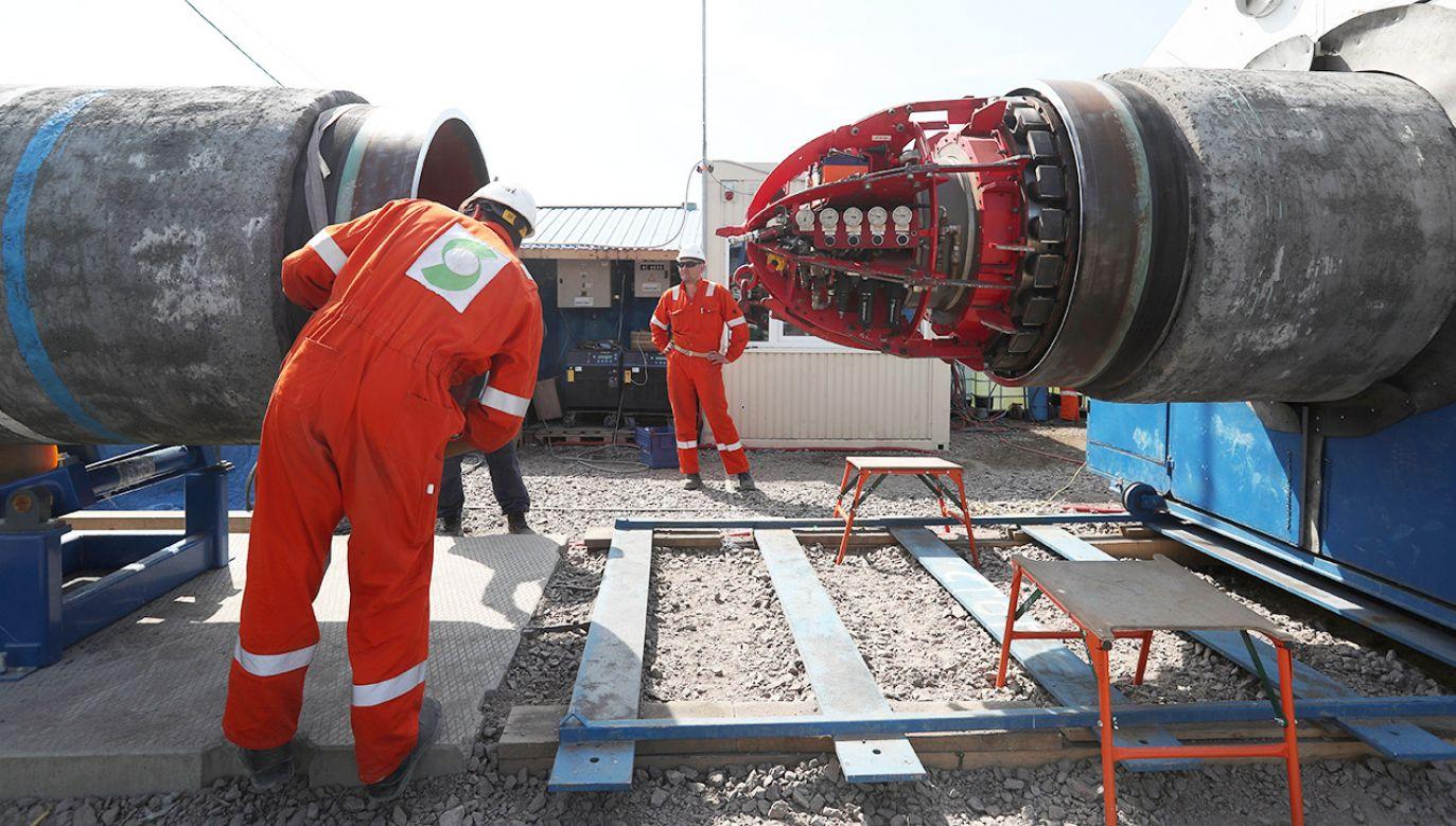 wygrała z Komisją Europejską w sądzie UE w sprawie  gazociągu OPAL(fot. REUTERS/Anton Vaganov)