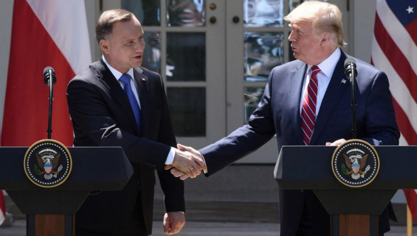 Do spotkania Andrzeja Dudy z Donaldem Trumpem dojdzie w Nowym Jorku (fot. arch.PAP/Abaca)