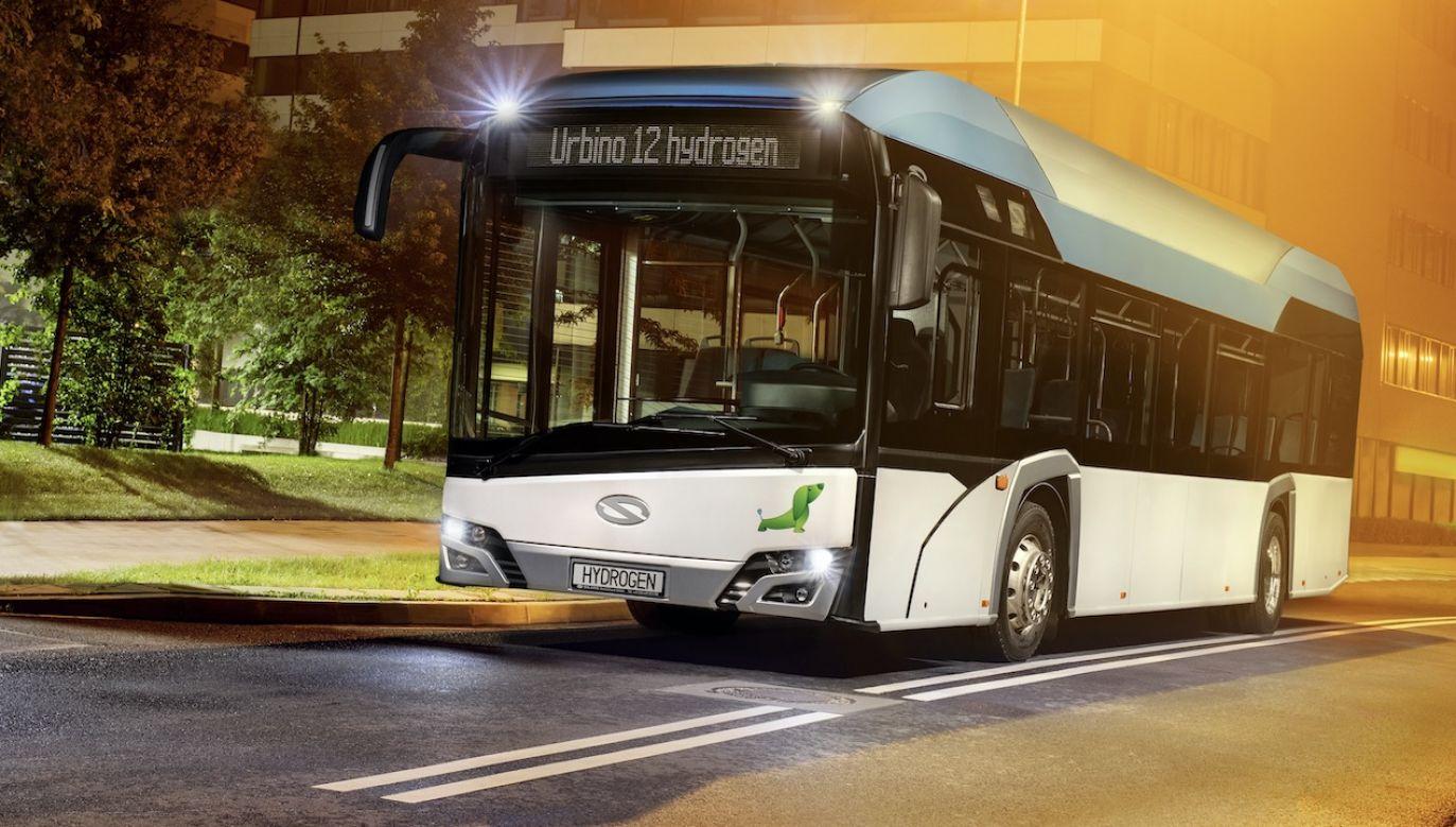 Najnowsze autobusy dla Krakowa będą wyposażone wmonitoring, system informacji pasażerskiej, klimatyzację, ładowarki USB oraz elektryczny system ogrzewania (fot. Materiały prasowe)