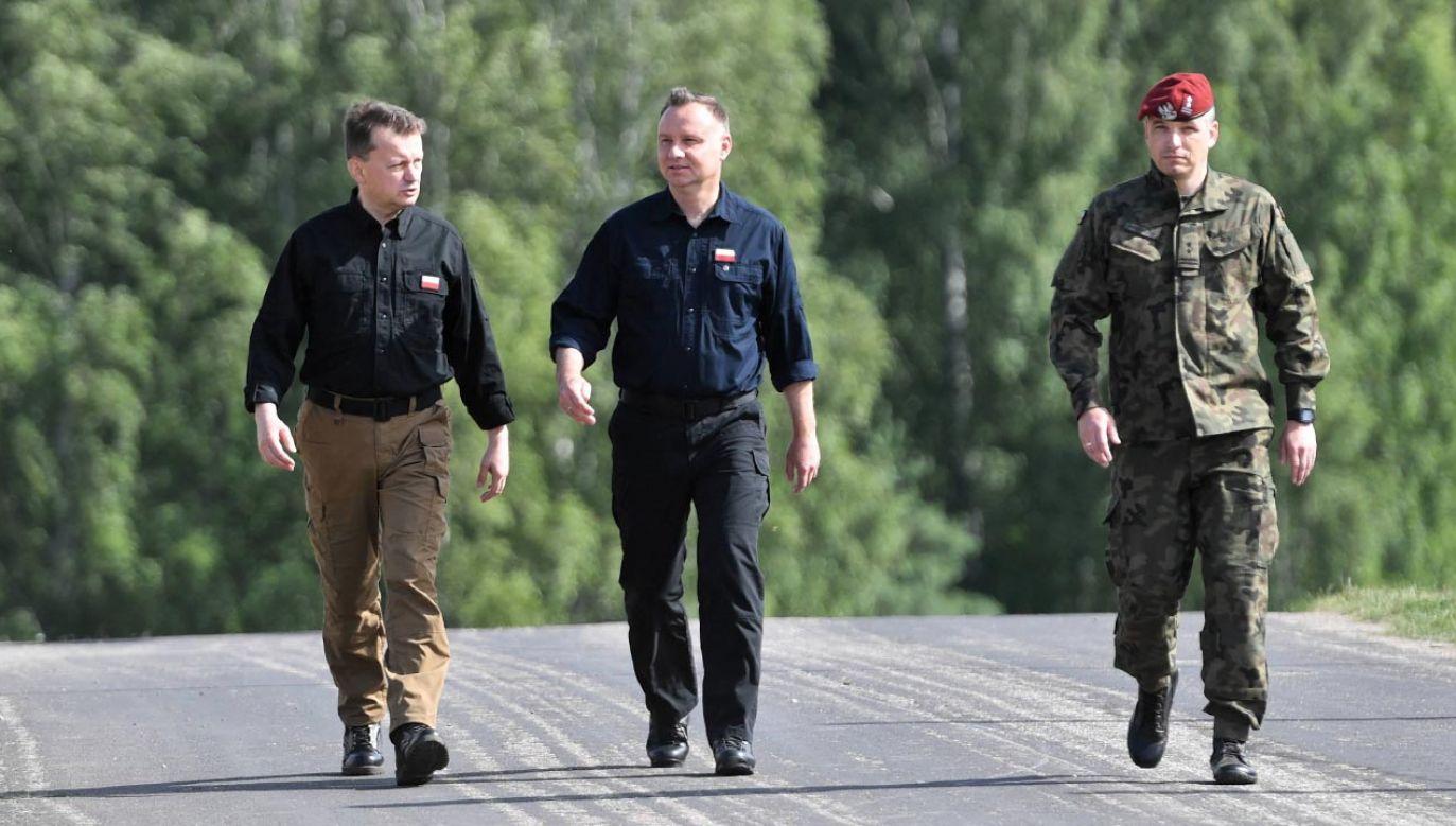 Wojsko otrzyma kolejnych 18 tys. sztuk karabinków MSBS Grot (fot.  PAP/Marcin Bielecki)
