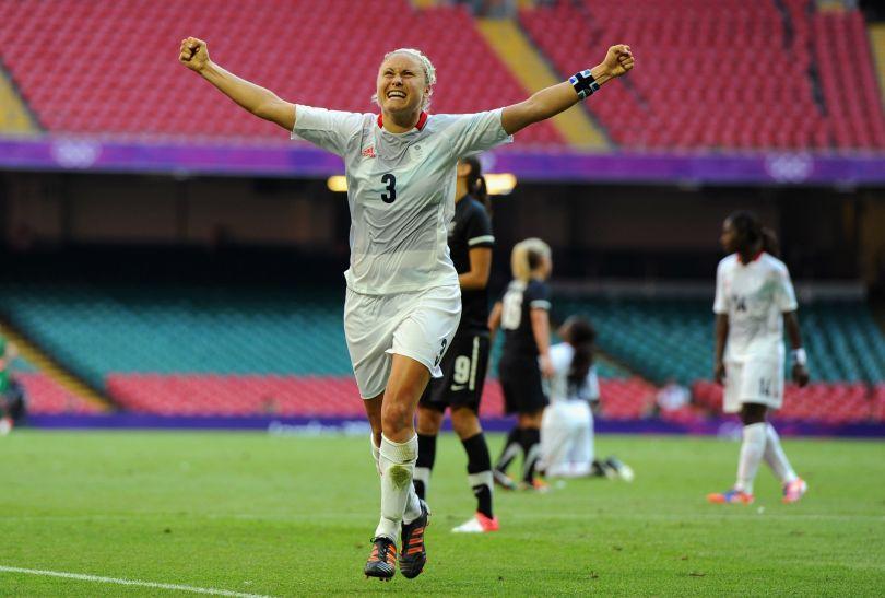 Jedyną bramkę w meczu zdobyła Stephanie Houghton (fot. Getty Images)