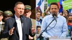 Wybory prezydenckie 2020. Polacy wybiorą: Andrzej Duda czy Rafał Trzaskowski (fot. PAP/Wojtek Jargiło, Grzegorz michałowski)