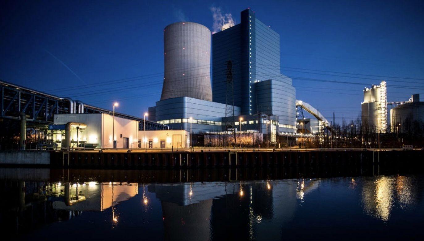 Opalana węglem kamiennym elektrownia Datteln 4 powstała w Zagłębiu Ruhry (fot. Lukas Schulze/Getty Images)