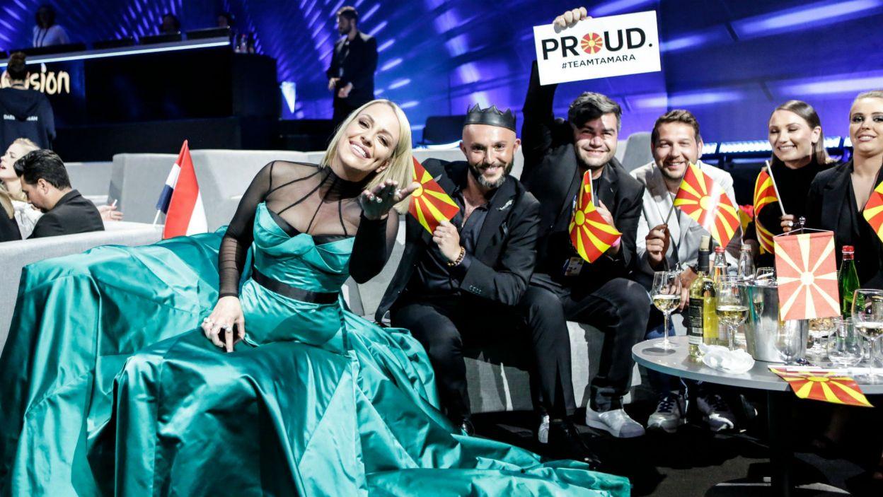 """Tamara Todevska zaśpiewała piosenkę """"Proud"""". Macedończycy mogą być z niej dumni! (fot. Thomas Hanses/EBU)"""